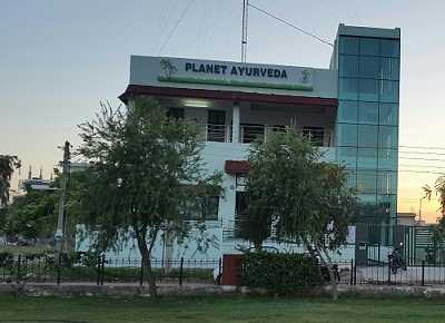 Planet_Ayurveda_India building