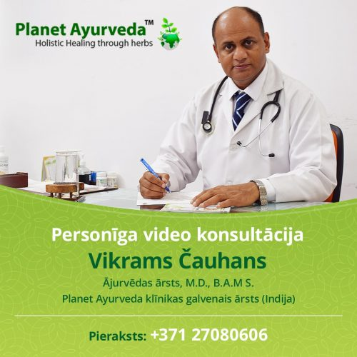 Online consultation with Dr Vikram